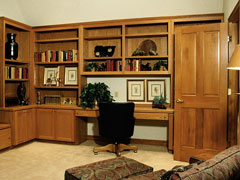 built-in home office furniture